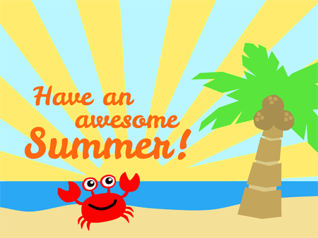 Have an awesome summer break!